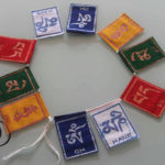 TIBETAN PRAYER  Buddhist Mini Prayer's Flags